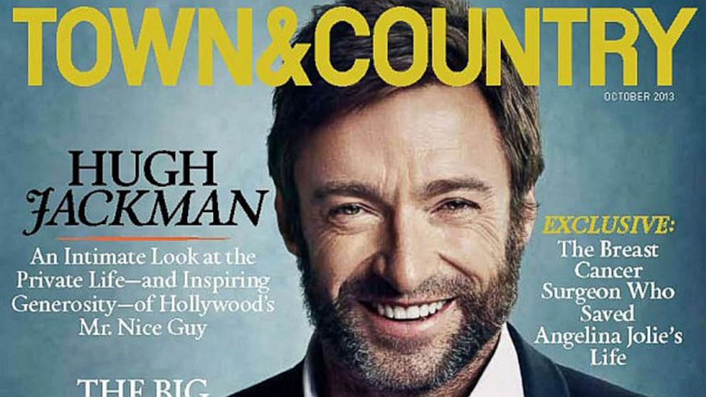 PHOTO: Hugh Jackman appears onjackman town