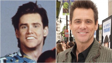 PHOTO: Jim Carrey is seen in these 1990 and 2011 file photos.
