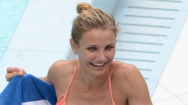 Cameron Diaz Shows Off Her Amazing Figure in a Bikini