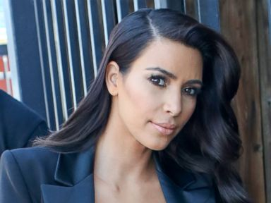 Photos: Kim Kardashian Rocks a Plunging Neckline