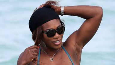 Serena Williams Shows Off Her Curves in a Bikini
