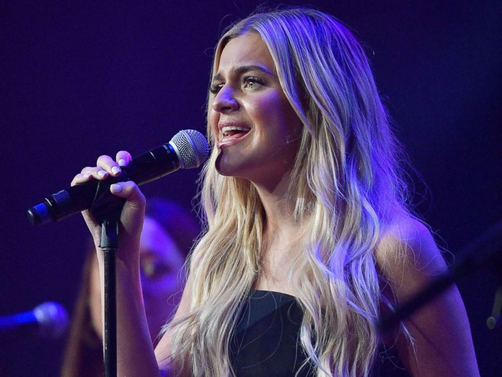 PHOTO: Kelsea Ballerini performs in downtown Nashville, Tenn., Nov. 6, 2017.