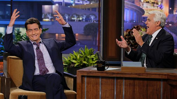 NBC charlie sheen jay leno show thg 130912 16x9 608 Charlie Sheen Finally Explains Selma Blairs Exit