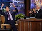 PHOTO: Charlie Sheen appears on the Tonight show with Jay Leno, Sept. 11, 2013.