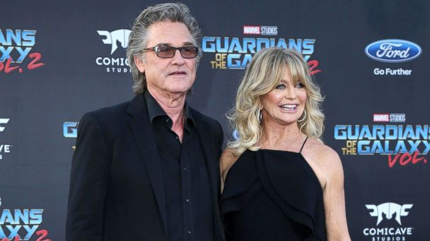 PHOTO: Kurt Russell and Goldie Hawn attend the
