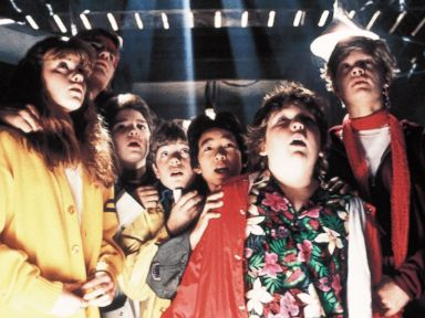 The Goonies directed by Richard Donner, 1985.