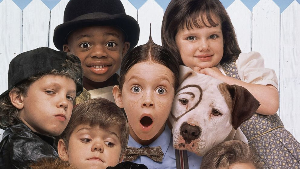 "PHOTO: The cast of the 1994 film ""The Little Rascals"" are seen in this undated file photo."