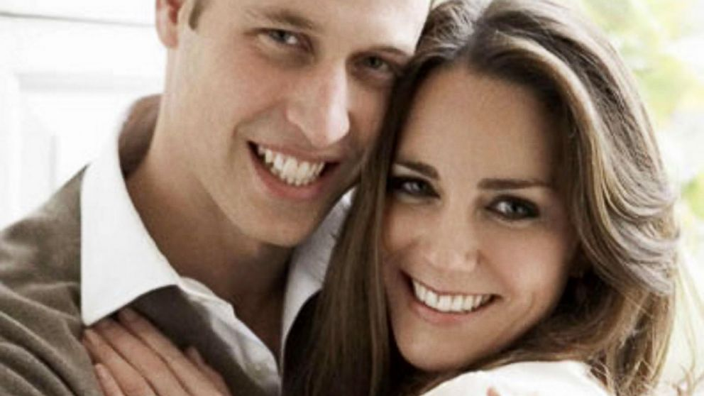 PHOTO: Britains Prince William and Kate Middleton pose in one of two official engagement portraits, taken by photographer Mario Testino at St Jamess Palace in London, Nov. 25, 2010.