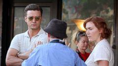 Go On Set of Woody Allens New Film