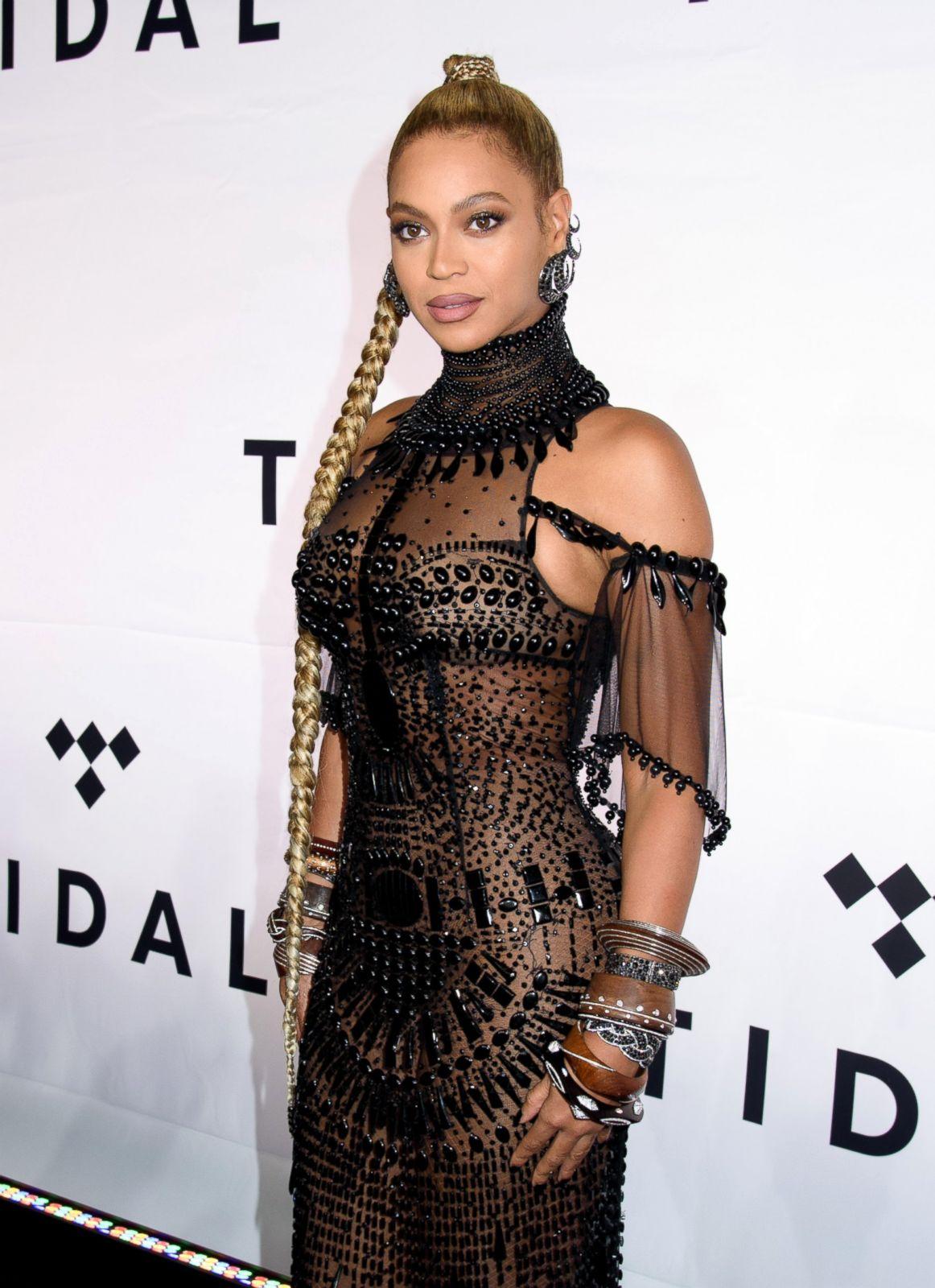 Beyonce knowles see thru