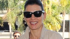 Emmy Winner Julianna Margulies Touches Down in L.A.