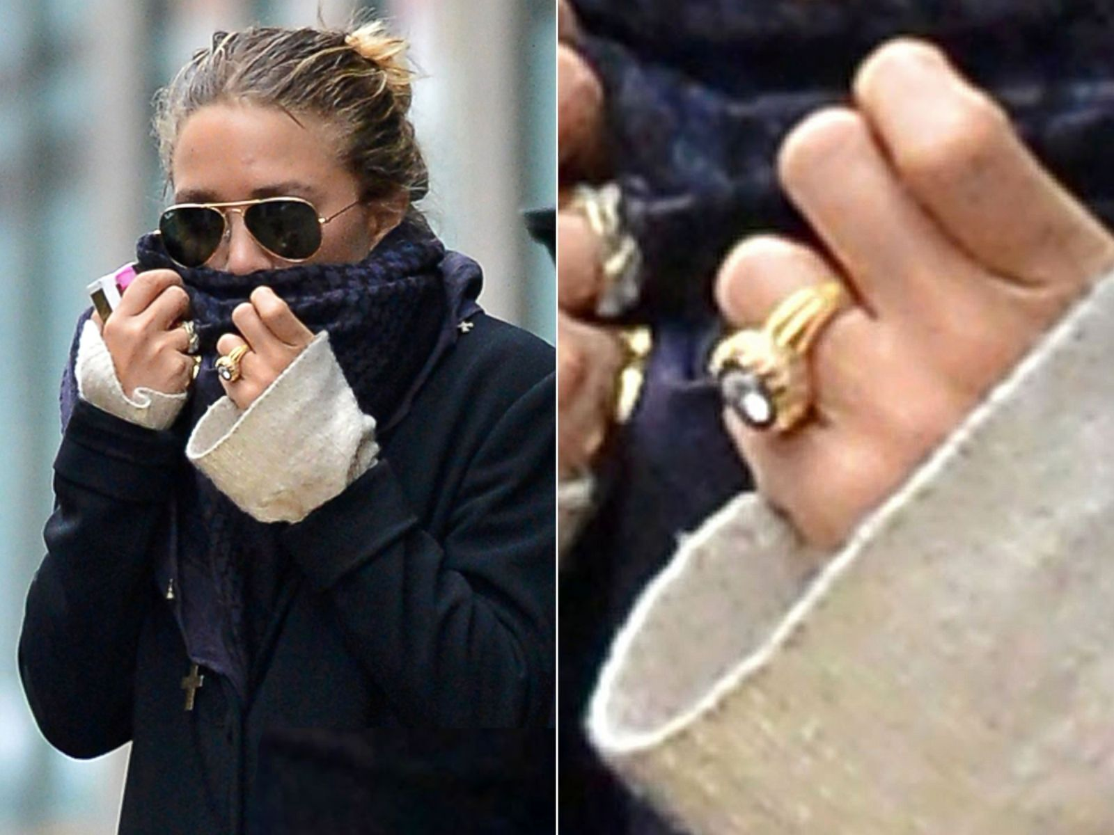 Mariah Carey Sports Some New Bling On 'that Finger' Picture  Hollywood's  Biggest Engagement Rings  Abc News