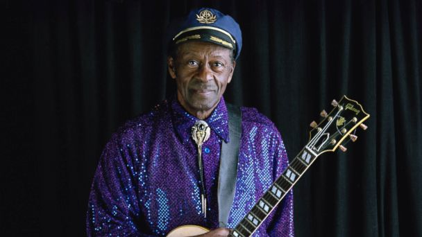 PHOTO: Chuck Berry in St. Louis, Feb. 5, 2003.