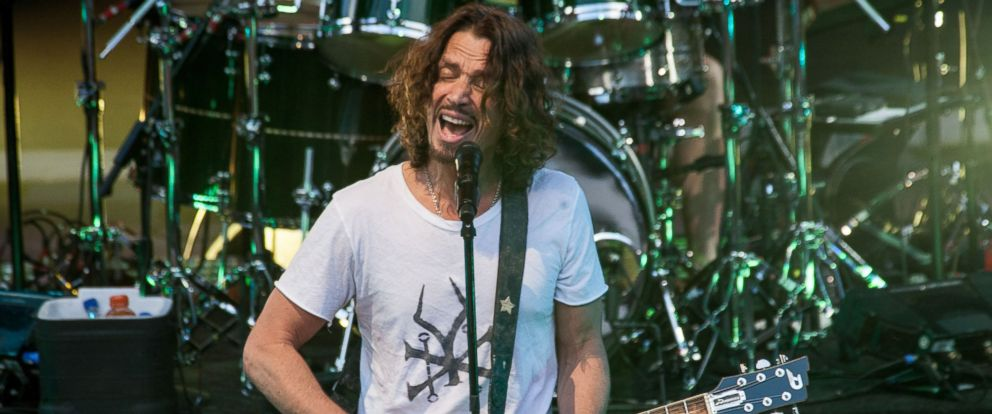 PHOTO: Chris Cornell in concert at Red Rocks Ampitheatre, July 21, 2014.