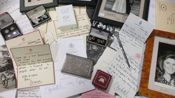 PHOTO: Cheffins Fine Art shows a letter written by Princess Diana from the estate of the late Cyril Dickman, former Palace Steward at Buckingham Palace, will be auctioned at Cheffins Connoisseur's Sale, on Jan. 5, 2017, in Cambridge, United Kingdom.