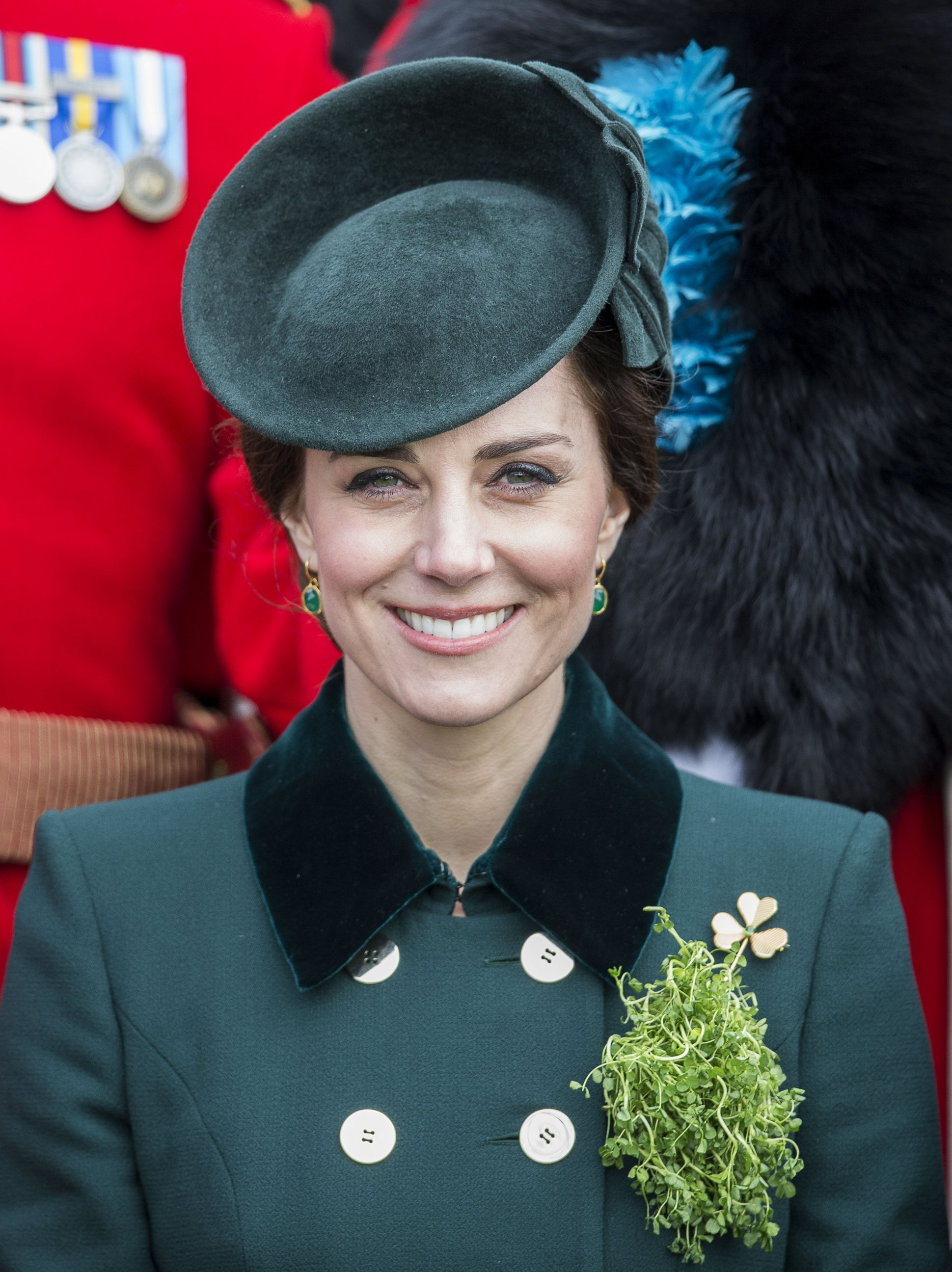 Duchess Kate celebrates St. Patricks Day