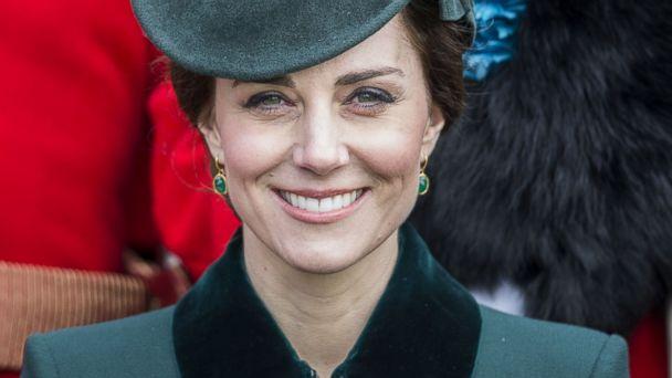 Duchess Kate celebrates St. Patrick's Day
