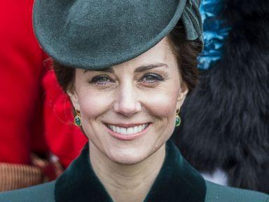 Duchess Kate celebrates St. Patricks Day