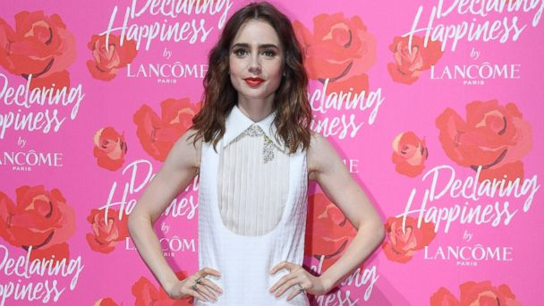 PHOTO: Lily Collins at the Lancome