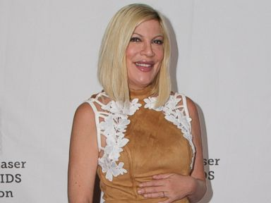 PHOTO: Tori Spelling at the Elizabeth Glaser Pediatric Aids Foundations A Time For Heroes, Oct. 23, 2016, in Los Angeles.