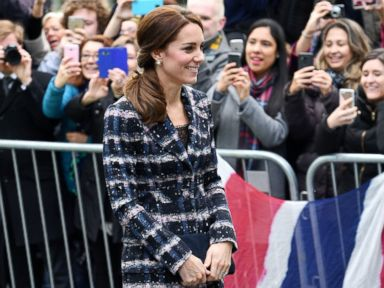 Duchess Kate Steps Out in Manchester