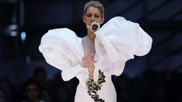 PHOTO: Celine Dion performs