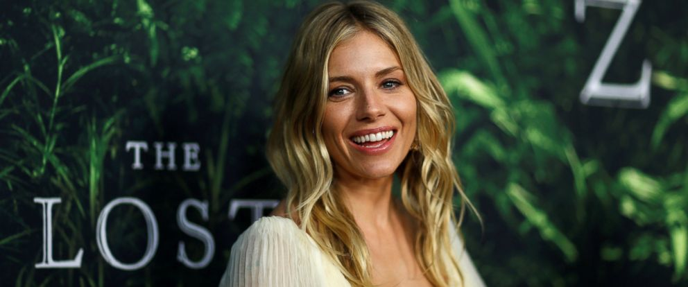 "PHOTO: Sienna Miller poses at the premiere of the movie ""The Lost City of Z"" in Los Angeles, Calif., April 5, 2017."