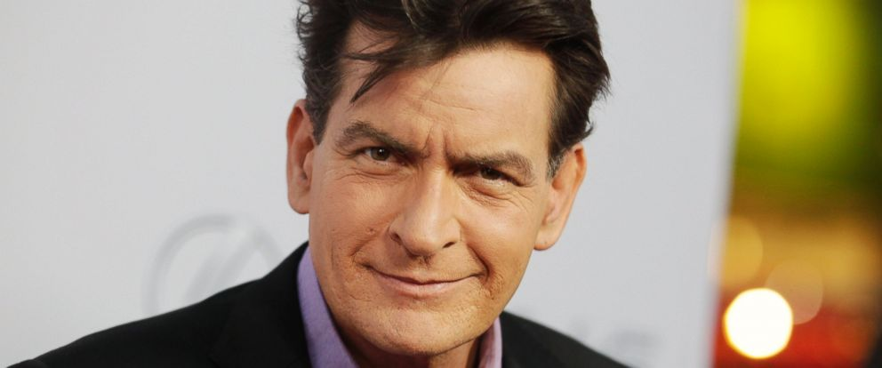 "PHOTO: Cast member Charlie Sheen poses at the premiere of his new film ""Scary Movie 5"" in Hollywood, Calif. on April 11, 2013."