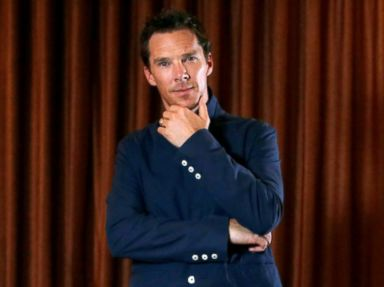 PHOTO: Benedict Cumberbatch poses for a portrait while promoting the movie Doctor Strange in Beverly Hills, California, Oct. 19, 2016.
