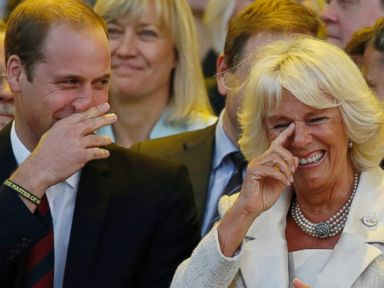 Whats Prince William Laughing At?