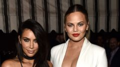 Kim Kardashian Hangs With Gal Pal Chrissy Teigen