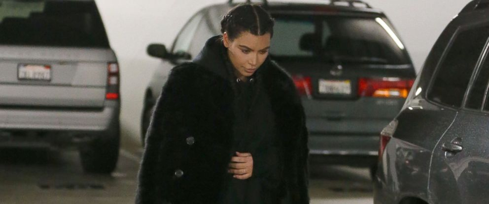 PHOTO: Kim Kardashian visits a doctors office in Beverly Hills, Calif., Jan. 5,2016. She has been keeping a low profile since the birth of her son Saint West last month.
