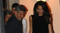 George and Amal Clooney Enjoy a Date Night in Italy