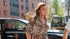 Caitlyn Jenner Steps Out in Animal Print