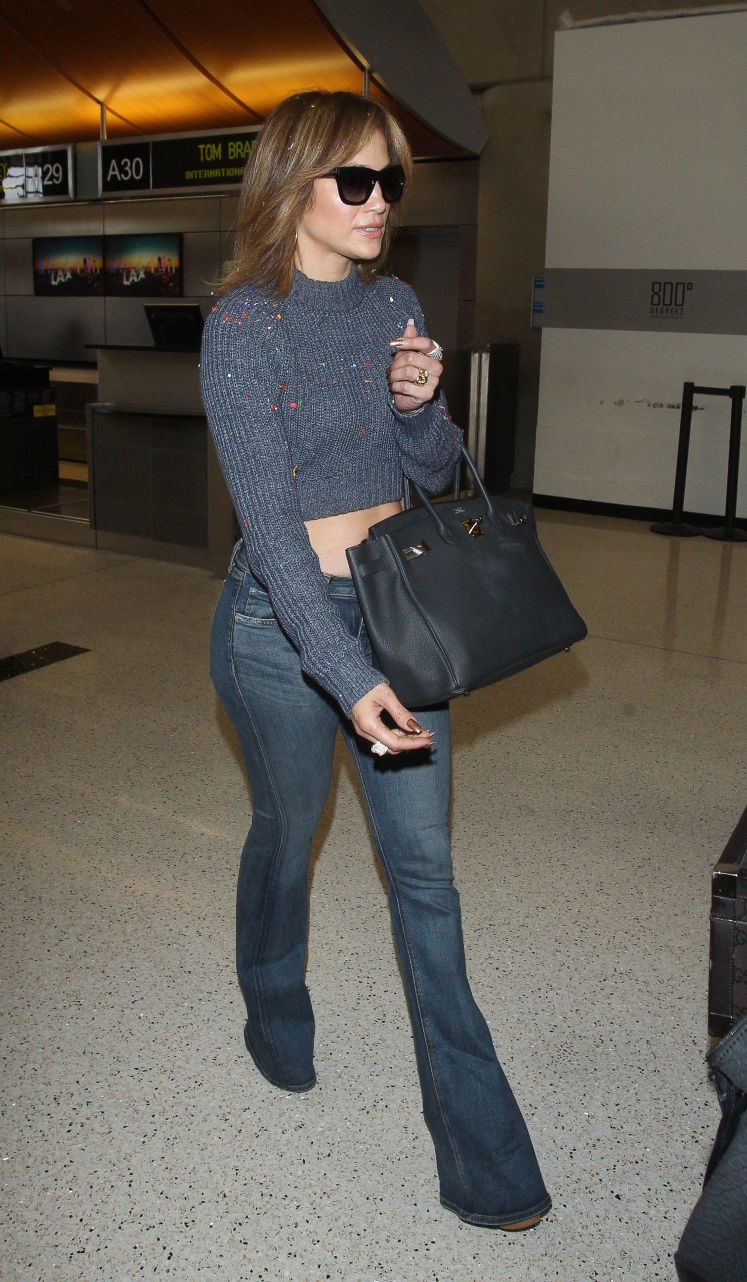 Jennifer Lopez Shows Off a Choppy New Hairdo