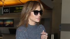 Jennifer Lopez Shows Off a Choppy New Hairdo