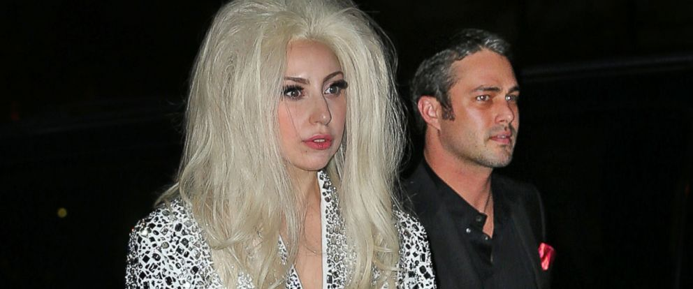PHOTO: Lady Gaga, left, and Taylor Kinney, right, are pictured on Dec. 22, 2013 in New York City.
