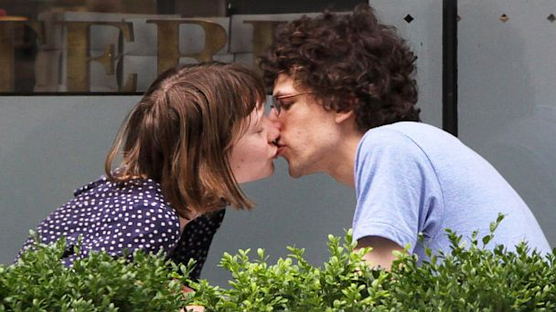 SPL mia wasikoswka eisenberg dm 130711 16x9 608 Cute Photo: Jesse Eisenberg and Mia Wasikowska Kissing in Toronto