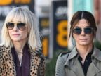 Sandra Bullock and Cate Blanchett Get to Work on Oceans Reboot