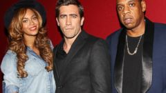 Beyonce and Jay-Z Attend the Nightcrawler Premiere