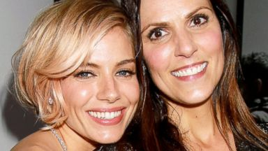 PHOTO: Sienna Miller and Taya Kyle at the New York premiere of American Sniper, Dec. 15, 2014.