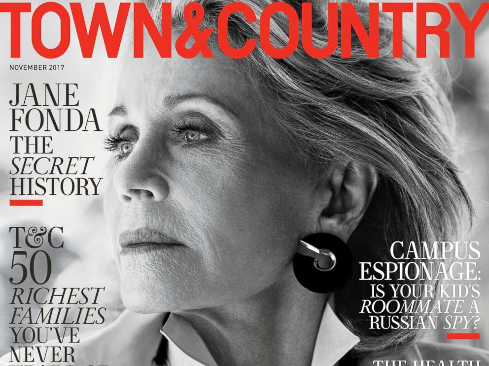 PHOTO: Jane Fonda appears on the November 2017 cover of Town & Country.