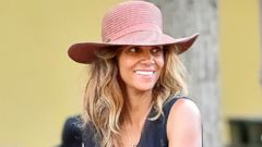 Halle Berry Steps Out Without Makeup