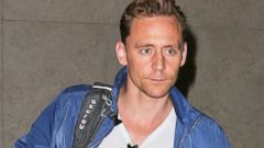 Tom Hiddleston Catches a Flight Out of LA
