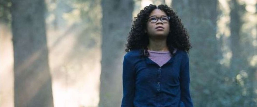 PHOTO: Storm Reid in a scene from the movie A Wrinkle in Time, 2018.