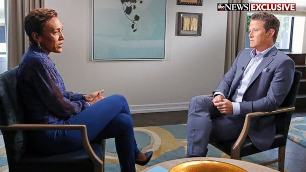 PHOTO: Robin Roberts interviews Billy Bush in an exclusive interview for