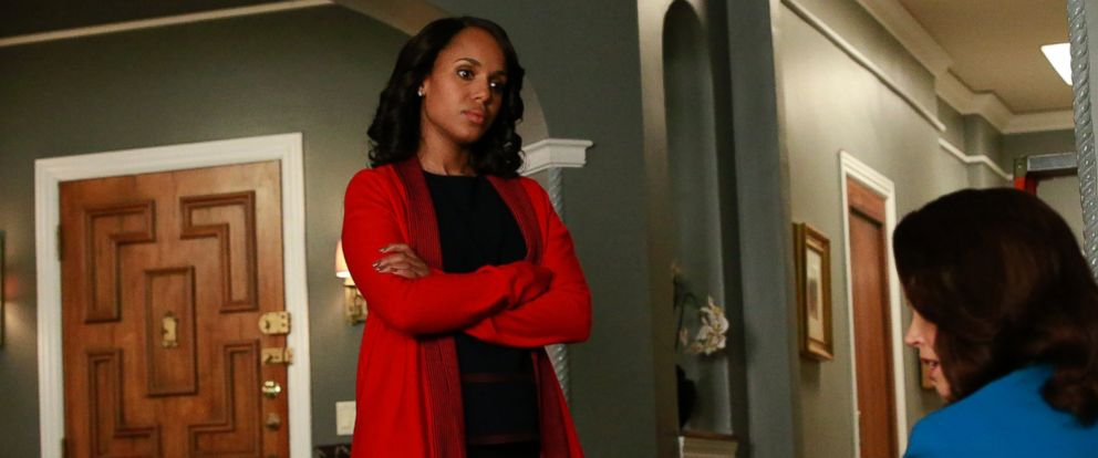 """PHOTO: Olivia played by Kerry Washington appears on """"Scandal"""" in episode """"Trojan Horse"""" which aired on April"""