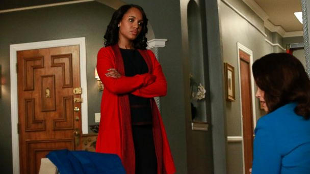 PHOTO: Olivia played by Kerry Washington appears on