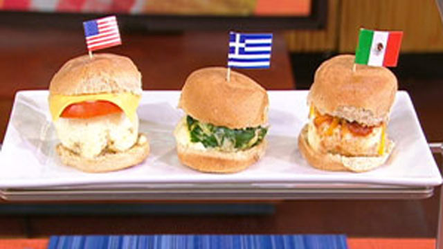 PHOTO: Reed Alexander's Greek Breakfast Sliders