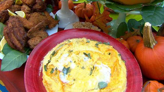 PHOTO: Elizabeth Karmel's recipes are shown on Good Morning America, Nov. 8, 2011.